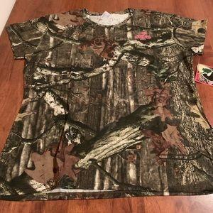 Women's Mossy Oak Camouflage Tee Shirt